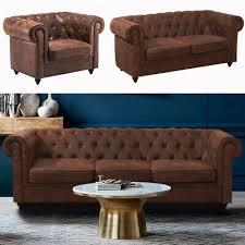 distressed tan big sofa chesterfield 3