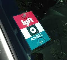 Uber Lyft Decal Sign Rideshare Car Display Cards Custom Made Rideshare Display Cards Custom
