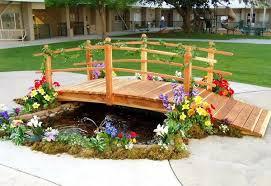 beautiful fairy tale garden bridges