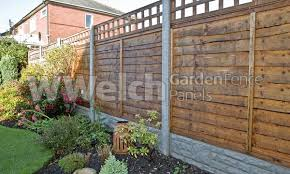 Waney Fencing Panels Fencing