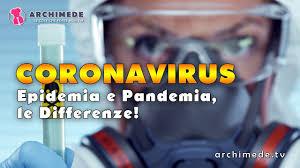 C0R0NAV1RUS: Differenza Tra Epidemia E Pandemia! - YouTube