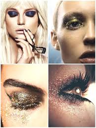 new year s eve glitter makeup tips
