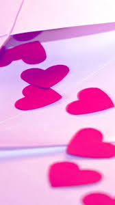 wallpaper pink love for mobile 2020