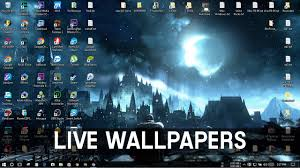 how to set live animated wallpapers