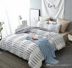 nordic style bedding set simple fashion