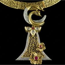 silver gold plated trendy antique