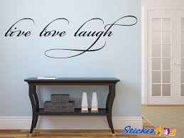 Live Laugh Love Vinyl Wall Decal Graphic Wall Saying Vinyl Decal Graphic For Home Decor