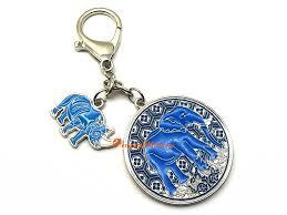 anti robbery amulet with blue rhino