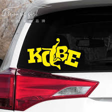 Car Stickers Basketball Kobe Bryant Dunk Creative Decoration Decals For Trunk Windshield Auto Tuning Styling Vinyls D30 Car Stickers Aliexpress