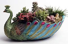 pot resin base large succulent planter