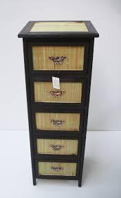 rattan bathroom storage cabinets