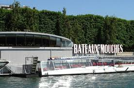 Bateaux Mouches sur la Seine à Paris