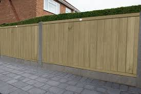4ft 1 83m X 1 22m Pressure Treated Vertical Tongue And Groove Fence Panel Forest Garden