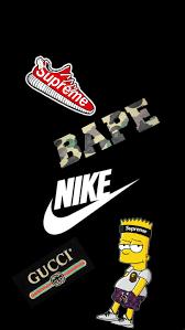 nike guccigang simpsons supreme bape