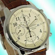classic brown leather strap very nice
