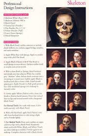 diy makeup instructions for horror or