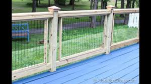 How To Easily Build And Install Deck Railing Youtube