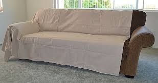 slipcovers vs drop cloth for furniture