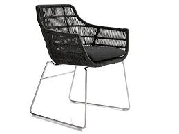 crinoline chair with armrests by b b