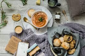sympathy soup food gift baskets