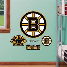 Shop Fathead Jr Boston Bruins Logo Wall Decals Overstock 9723428