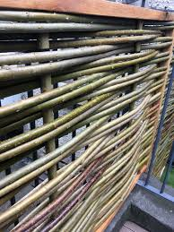 Willow Fences Natural Garden Screens Willow Woodwork Greenworx