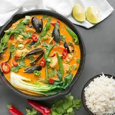 Thai Red Fish Curry - The Petite Cook