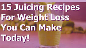 healthy juicing recipes for weight loss