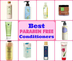 paraben free natural conditioners india