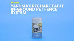 Petsafe Yardmax Rechargeable In Ground Pet Fence System Chewy Com
