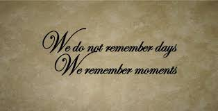 We Do Not Remember Days Vinyl Wall Decal The Graphics Company