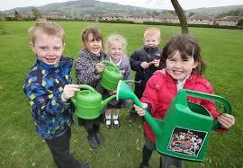 Pupils plant oak sapling   Keighley News