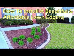 affordable paving stone edging