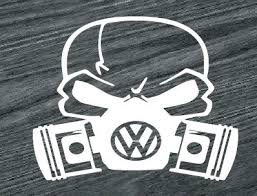 Volkswagen Vw Skull Mask Jdm Car Window Decal Stickers Custom Sticker Shop