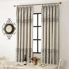 Floral Short Curtains For Kitchen Window Decoration Grommets Kids Room Curtains Printed Single Panel Door Curtains Home Decor Curtains For Room Curtainscurtains For Kitchen Aliexpress