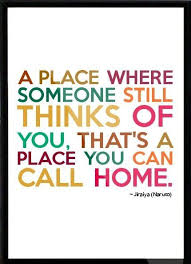 a place where someone still thinks of you thats a place you can