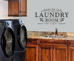 Laundry Room Wash Dry Fold 5 Cents Repeat Laundry Room Vinyl Wall Decal Home For Sale Online Ebay