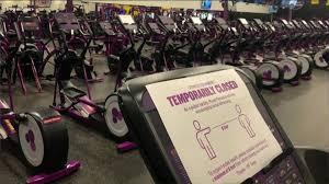 coronavirus gyms temporarily closing