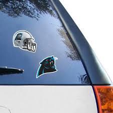 Carolina Panthers Wincraft 2 Pack 4 X 4 Decals
