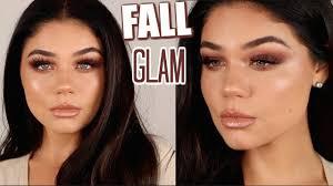 simple fall makeup tutorial 2018