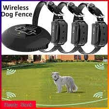 Wireless Electric Dog Fence Pet Containment System Shock Collar For Training Shopee Philippines