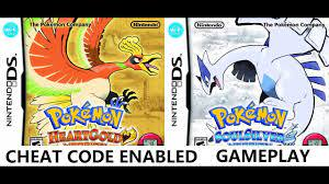 Cheat Code Enable] Pokemon Heart Gold & Soul Silver Game Play 8 - YouTube