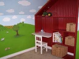 Toddler Tractor Bedroom Farm Room Tractor Bedroom Toddler Rooms