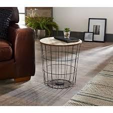 tromso basket side table living room