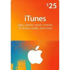 25 apple itunes gift card us itunes