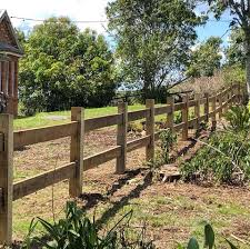 Treated Pine Timber Post And Rail Fence Hills Fencing And Farm Management Facebook