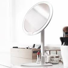 rechargeable led hd makeup daylight