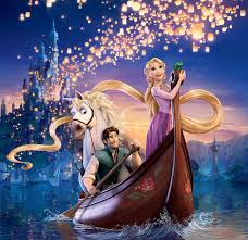 disney tangled wallpaper wave the sky