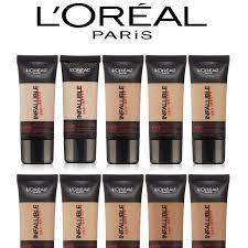 12 shades loreal infallible pro matte