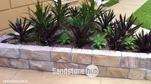 sandstone bricks edging free e